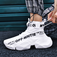 2019 new sock sneakers mesns sneakers casual men shoes sneakers breathable off white shoes mens casual shoes hot sale size 39 47