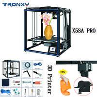 Tronxy Neue Ankunft X5SA PRO Verbesserte 3D Drucker FDM Linearführungsschiene Hohe Präzision Titan Extruder DIY Kit Stabile Motherboard