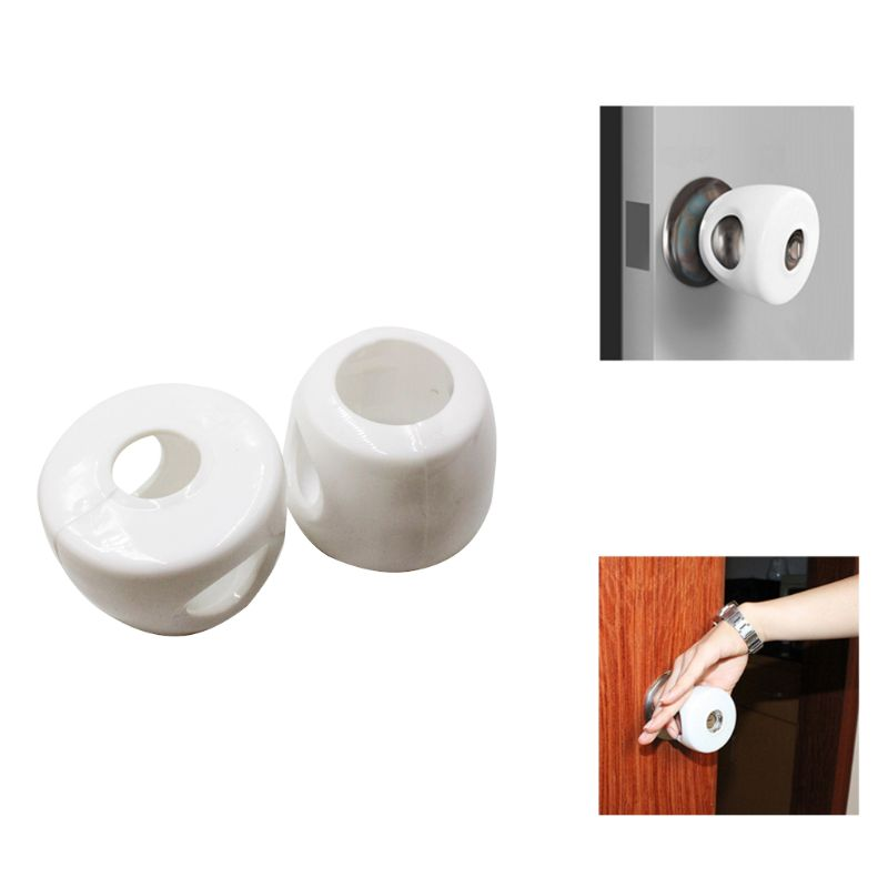 Kids Baby Door Knob Safety Cover Child Proof Lockable Drawer Handle Sleeve Children Safety Care Home Room Accessory