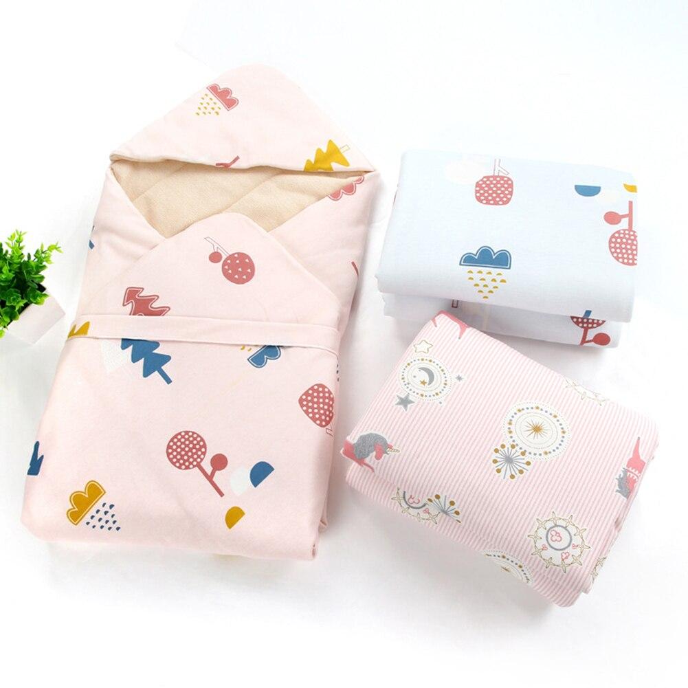 Bande dessinée chaude coton nouveau né emballage couette sacs de couchage hiver nouveau né emmaillotage couverture enveloppe pour bébé enfant cadeaux - 3
