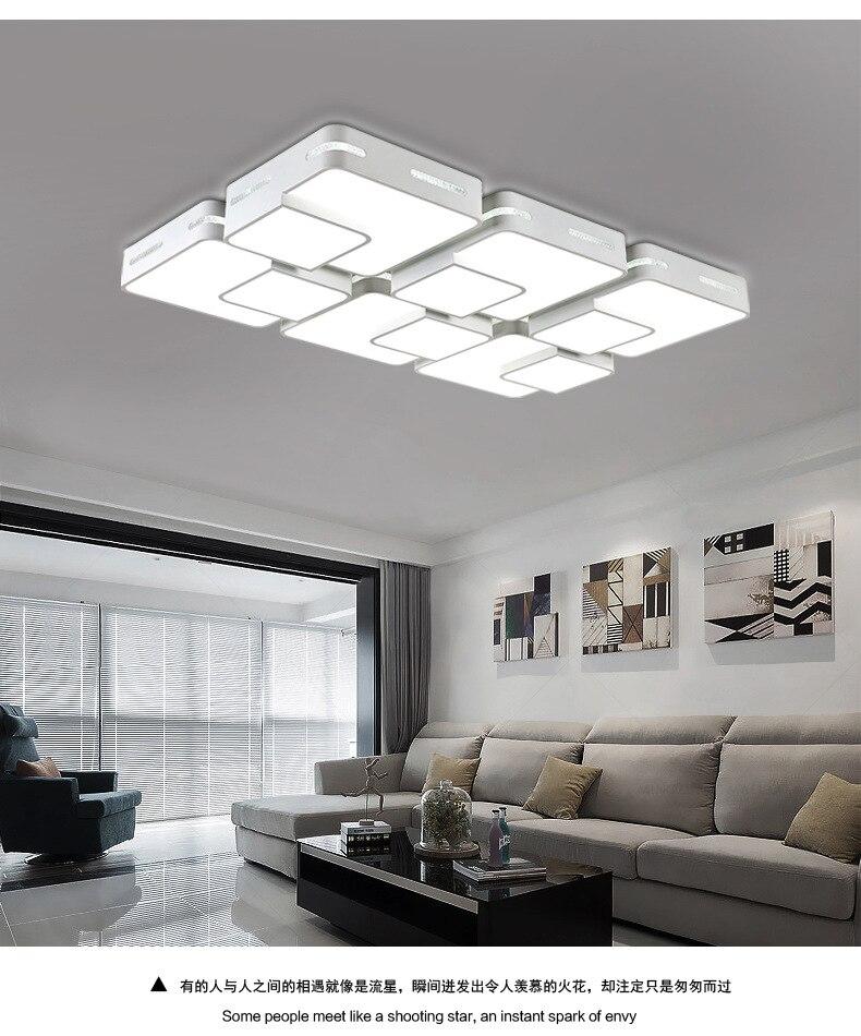Светильники для гостиной, Креативный светодиодный потолочный светильник, железные художественные ресторанные лампы, великолепная