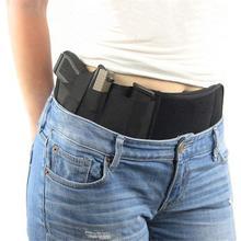 Тактическая Скрытая кобура для пистолета, правая рука, пояс для живота, кобура для пистолета, невидимый эластичный мешок для талии, пояс, военный боевой
