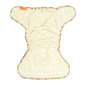Image 3 - HappyFlute OS Hemp Fitted Cloth  Diaper,AIO each diaper with a snap insert, high absorbency, fit baby 5 15kgs