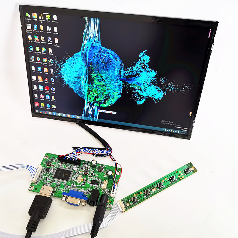 <font><b>10.1</b></font> inch 2K <font><b>display</b></font> capacitive touch module kit 2560x1600 IPS HDMI LCD Module Car <font><b>Raspberry</b></font> <font><b>Pi</b></font> 3 Game 10 point touch Monitor image