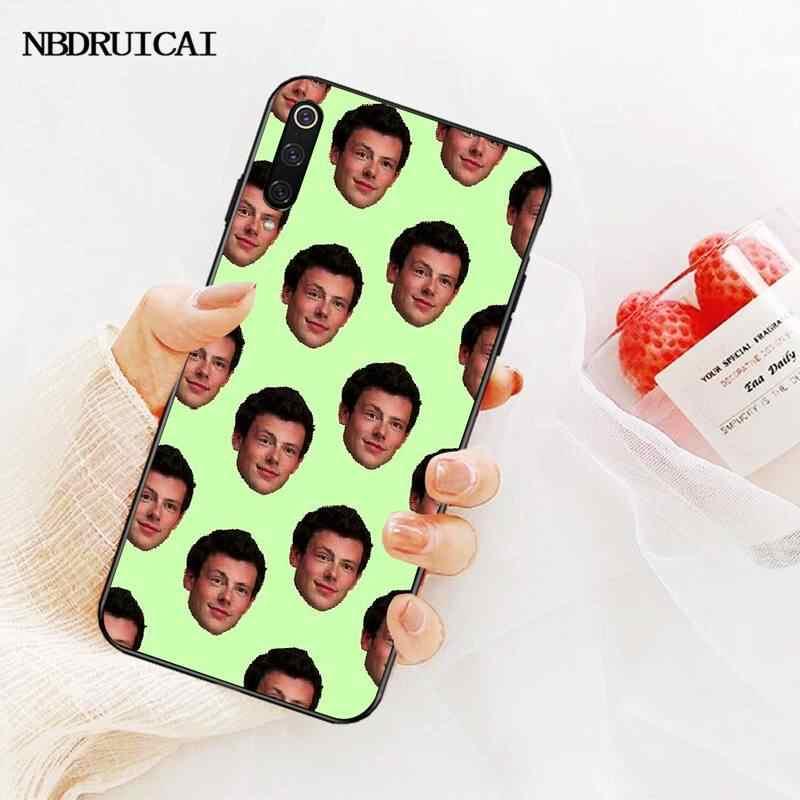 NBDRUICAI Cory Monteith Glee Bling sevimli telefon kılıfı Redmi için not 8 8A 7 6 6A 5 5A 4 4X 4A git Pro artı başbakan