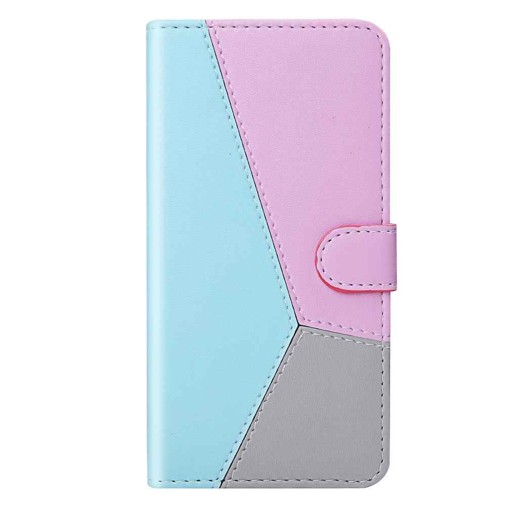 LG K50 kılıf deri Flip LG kılıfı Q60 Coque cüzdan manyetik kapak LG K40 K12 artı Q8 X4 2019 Q Stylo 4 W10 telefon kılıfı