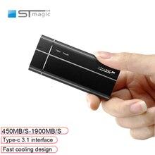 Stmagic Spt32 metal External SSD hard drive 128GB SSD 512GB 1TB Portable SSD  hd externo Type C USB 3.1 disco duro externo pc
