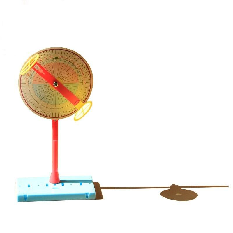 1 Набор обучающих детских научно-экспериментов, игрушки, технологические материалы, сделай сам, солнечные часы, Обучающие игрушки, подарки