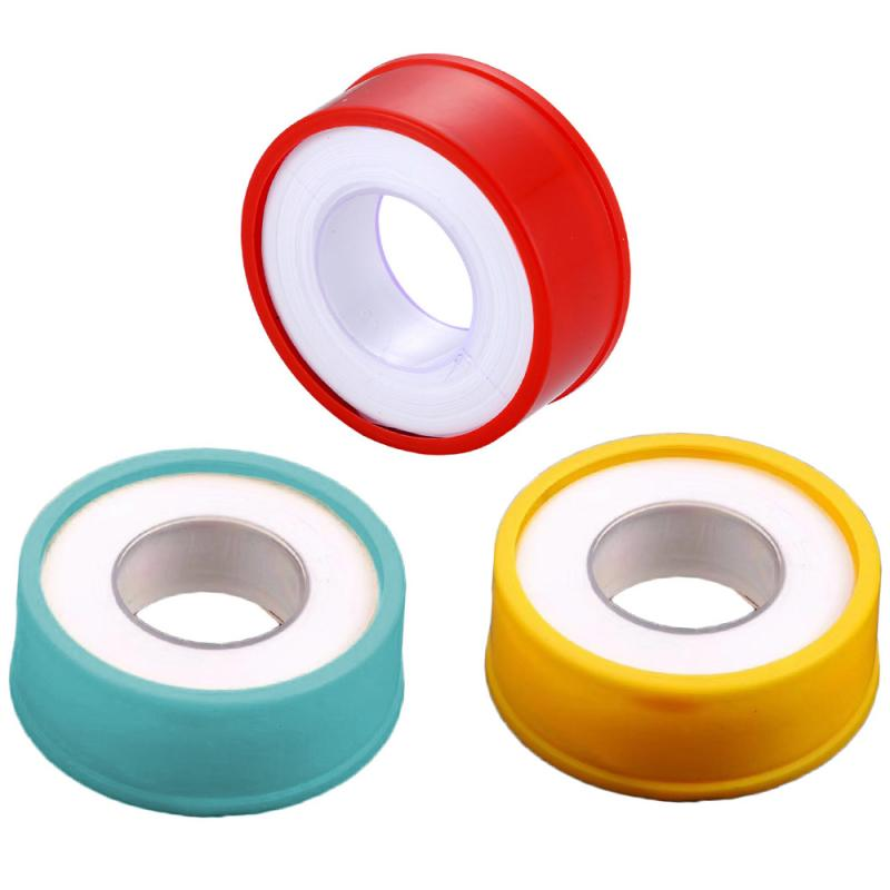 2/5/10pcs Industrial Sealant Tape Gas Water Tape Pipe Seal PTFE Thickened Raw Material Tape Thread Seal Water Tape Good Sealling