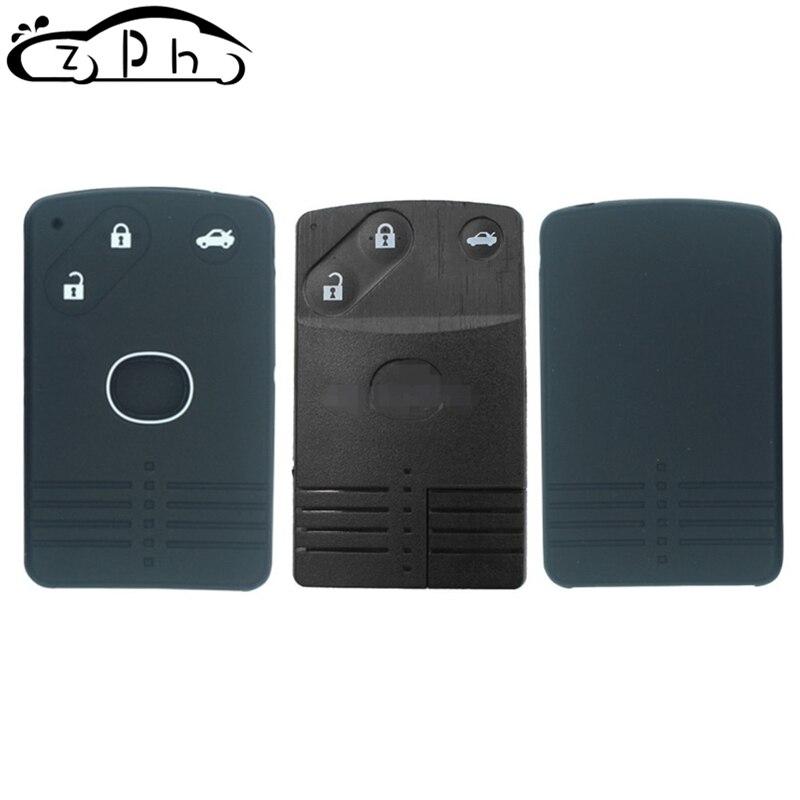 For Mazda 5 Premacy 8 M8 CX7 CX9 RX8 RX-8 Miata MX5 Verisa Silicone Remote Key Case Fob Shell Cover Skin Holder 3 Button