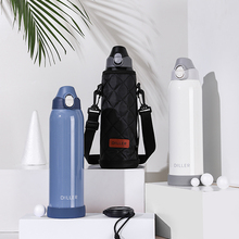 Stainless Steel Large Capacity Vacuum Insulated Water Bottle Double Wall Wide Mouth BPA Free Leak Proof Sports Design 1000 ML