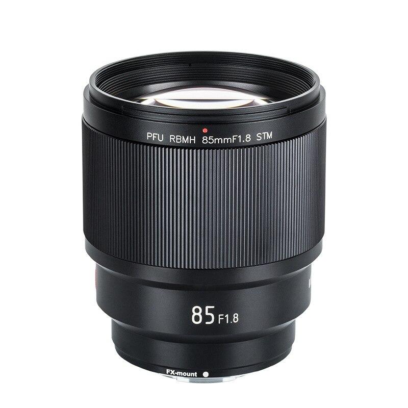 VILTROX 85mm F1.8 objectif demi-cadre à mise au point fixe à monture X objectif à mise au point automatique pour objectif photo Fujifilm FX