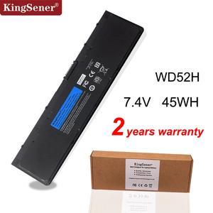 Image 1 - Bateria de computador portátil kingsener, bateria para dell latitude e7240 e7250 w57cv 0w57cv gvd76 vfv59 7.4v 45wh