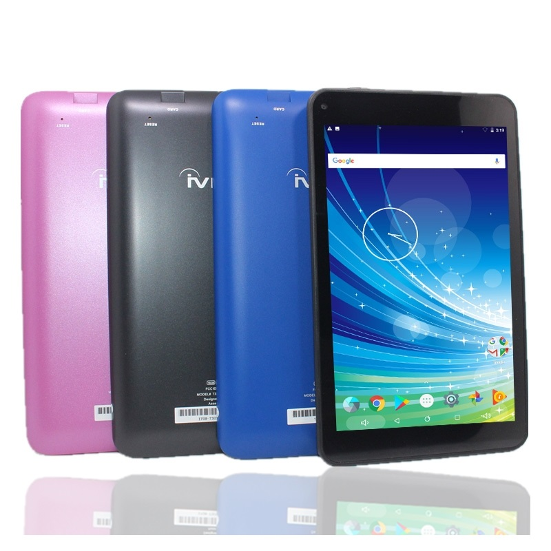 G9 7 Inch Tablet PC Android 7.1 Allwinner A53 Quad Core 1GB+ 16GB Dualcamera IPS 1024 * 600 Pixels Bluetooth Colorful