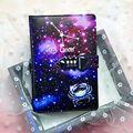 Блокнот А5 со знаками Зодиака И созвездиями, запирающийся блокнот с замком, школьные принадлежности, подарок для студентов