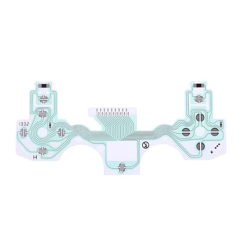 Sirkuit Film Tombol Pita Konduktif Kabel Keyboard FLEX PCB Pengganti PS4 PlayStation 4 10XX 11XX Controller Aksesoris