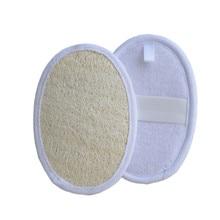 1PC Bath Loofah Natural Loofah Luffa Loofa Bath Shower Wash Body Pot Sponge Scrubber Tool Towel Remove Dead Skin Made Soap