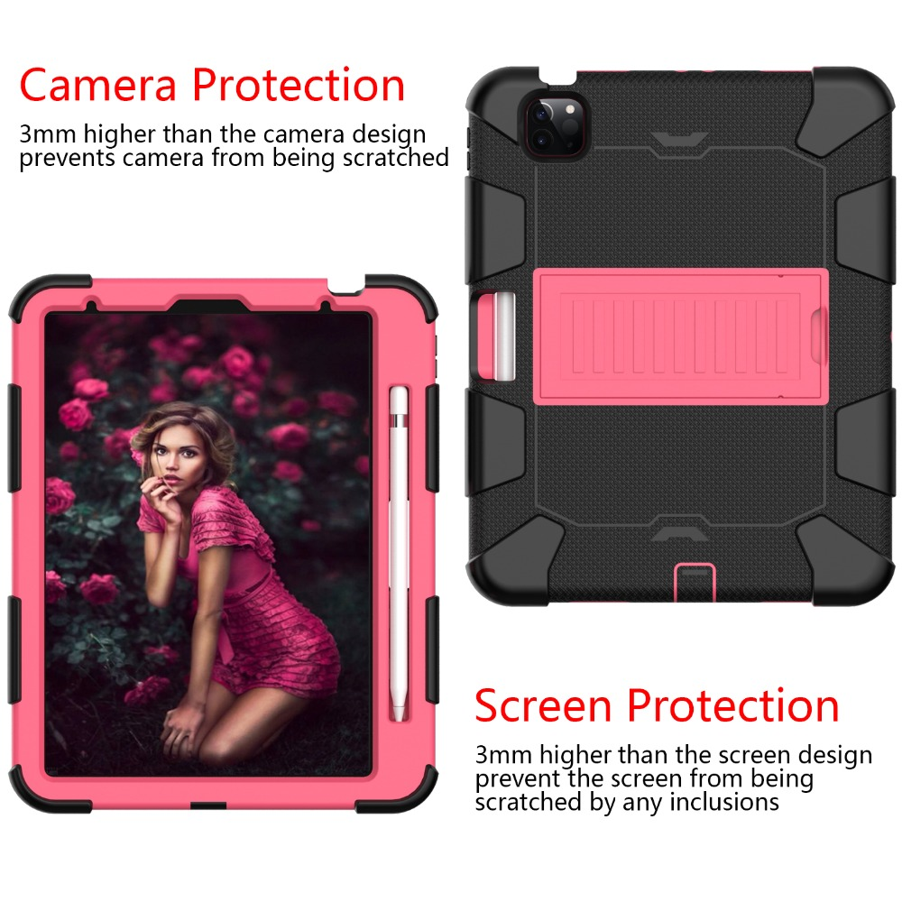 Rugged for PC 4 iPad Heavy Duty Kids Shockproof Tablet 2020 Air Case inch Hybird 10.9