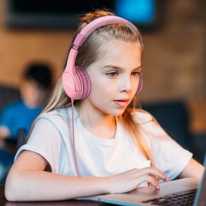 Image 5 - Mpow CH1S السلكية الاطفال سماعات مع هيئة التصنيع العسكري لطيف 85DB حجم محدود حماية السمع على سماعات أذن للأطفال الفتيات الفتيان
