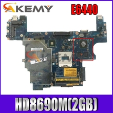Akemy VAL91 LA-9932P FOR DELL Latitude E6440 Laptop Motherboard HD8690M(2GB) CN-07TTNJ 7TTNJ Mainboard NOTEBOOK PC 100%Tested