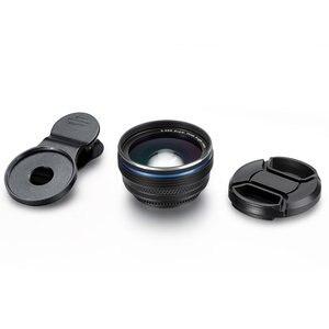 Image 5 - SNAPUM alüminyum alaşımları evrensel klip cep telefonu 0.45X geniş açı lensler + 10x makro cep telefonu lens iphone Huawei samsung