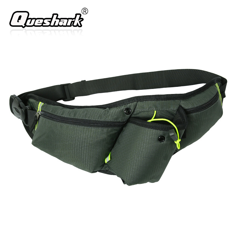 Yoga Climbing etc Fitness Cycling Lightweight Adjustable Anti-theft Sport Invisible Waterproof Waist Bag For Running Red Running Belt Waist Pack