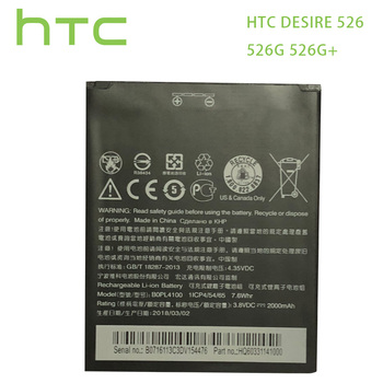 HTC Original  / 7.6Wh Replacement Battery For HTC Desire 526 526G 526G+ Dual SIM D526h BOPL4100 BOPM3100 B0PL4100 Batteries htc desire 626g dual sim eea blue