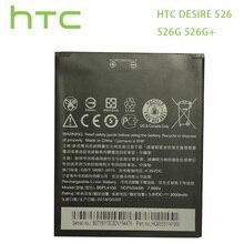 HTC orijinal/7.6Wh için yedek pil HTC Desire 526 526G 526G + çift SIM D526h BOPL4100 BOPM3100 b0PL4100 piller