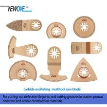 Newone Carbide Segment Oscillerende Multi tool Zaagbladen Accessoires Voor Power Tool Als Fein Multimaster,Dremel, snijden Groeven