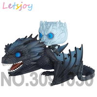 Official letsjoy Night's King pop horse action figure Game of thrones vinyl squishy Daenerys Jon Snow Song of Ice and Fire