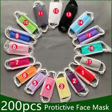 5-200 Stuks Wegwerp Beschermende Masker 3 Lagen Stofdicht Facial Beschermhoes Maskers Maldehyde Voorkomen Anti-Vervuiling Face maskers cheap NoEnName_Null NONE China Vasteland Protective Mask 3 Layers