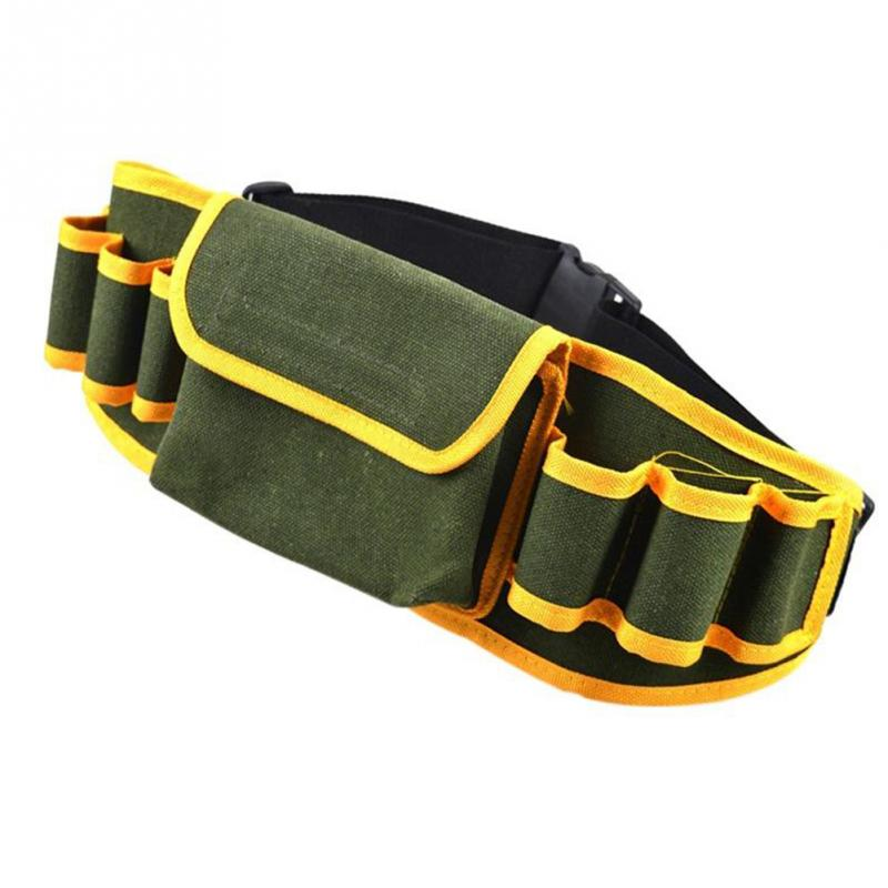 New High Quality Hardware Mechanics Canvas Tool Bag Utility Pocket Pouch Utility Bag With Belt