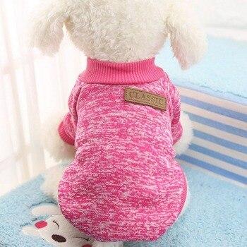 HOOPET Winter Warm Cotton Cat Hoodies Sweatshirt Pet Coat Jacket Clothes roupas para cachorro For Small Dogs XS-XXL 9 Colors
