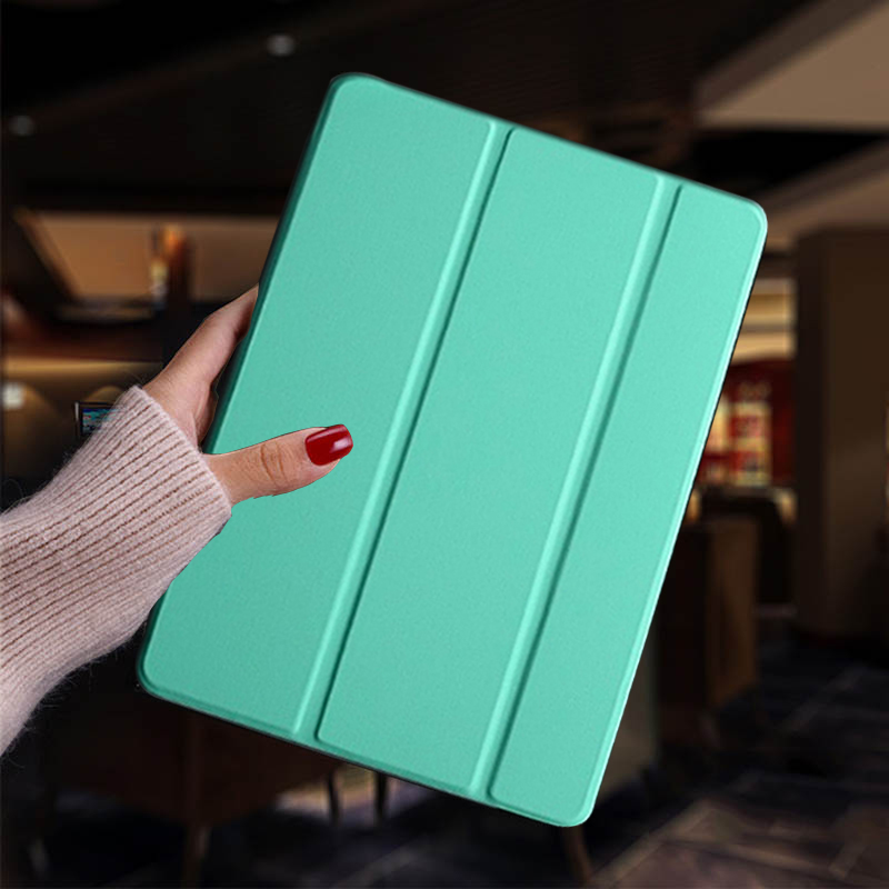 Mint green Red Tablet case for iPad Air 4 2020 10 9 Case PU Leather Stand Cover For ipad