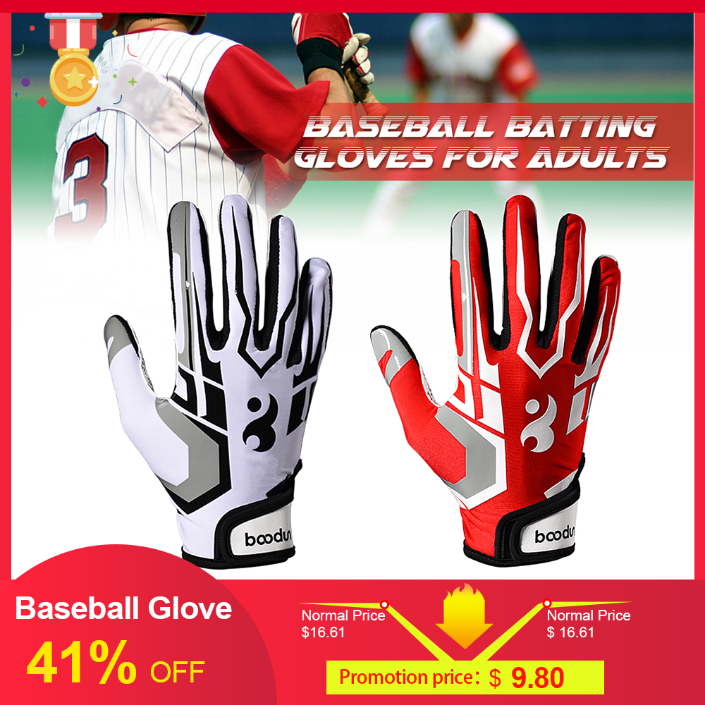 Professional Baseball Glove Batting Gloves Unisex Baseball Softball Batting Gloves Anti-slip Batting Gloves For Adults Unisex