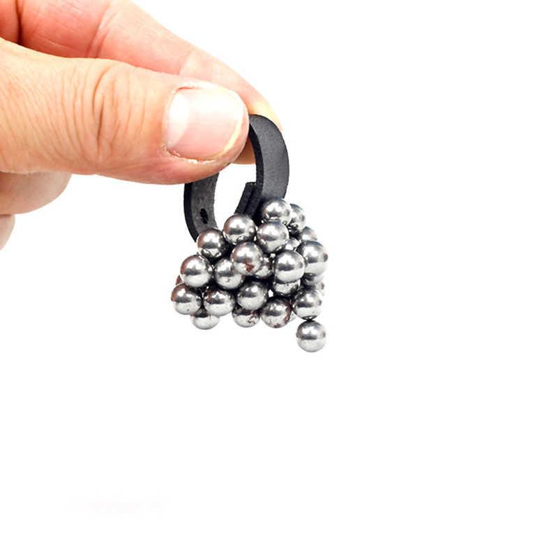 1pcs slingshot 액세서리 강력한 자기 반지의 야외 자동 조정 마그네틱 버클 slingshot draws 철강 공