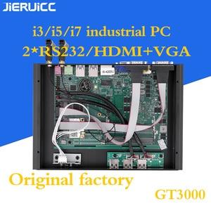 Image 3 - 2COM RS232 FANLESS מיני מחשב עם 4 USB3.0, INTEL CORE I3 I5 I7 מעבד DUAL CORE 4 אשכולות, 7*24 שעות עבודה, צריכת חשמל נמוכה