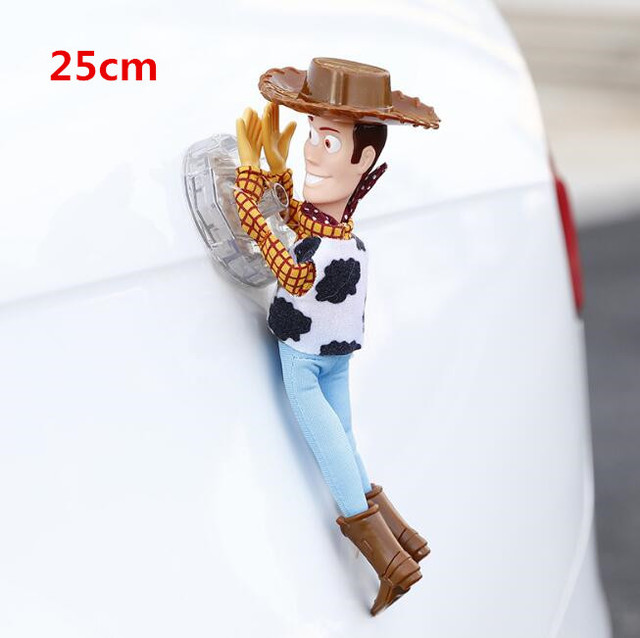 Hot Toy  Sherif Woody Buzz Lightyear Car Dolls Plush Toys Outside Hang Toy Cute Auto Accessories Car Decoration 25/35/45CM