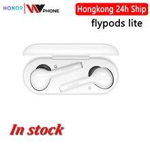 flypods облегченного Honor Flypods Lite беспроводных наушники Bluetooth 4.2 Водонепроницаемого управления IP54 Tap