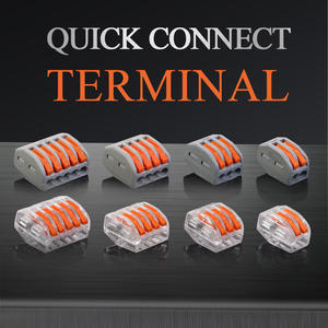 Cable-Connectors Push-In-Terminal-Block Mini Compact Fast-Wire Universal 214/215