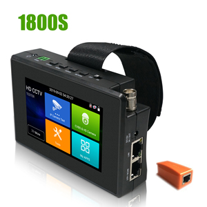 Image 4 - IPC1800plus 1080 1080p 5 イン 1 tvi ahd cvi アナログ ip cctv カメラテスターバッテリーセキュリティテスターモニタービデオオーディオテスト ptz