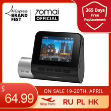 Car DVR Parking-Monitor A500S Dash-Cam Dual-Sight 70mai 24H Plus ADAS 1944P Built-In