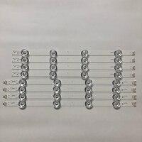 """עבור lg 100% חדש 8 PCS (4 * A, B 4 *) רצועות LED עבור LG INNOTEK ד.ר.ת 3.0 42"""" -A / B סוג 6916L 1709B 1710B 1957E 1956E 6916L-1956A 6916L-1957A (2)"""