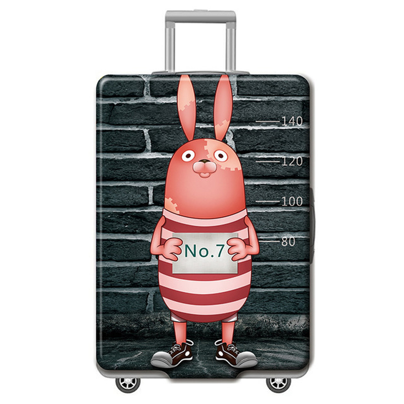 Brand Trolley Luggage Cover Suitcase Case Travel Accessories For 18-32 Inch Luggage Protective Elastic Cover Cartoon Pattern H60