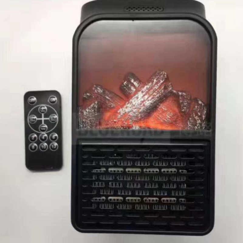 مصغرة الكهربائية الحائط منفذ لهب سخان الاتحاد الأوروبي المكونات في الهواء أدفأ PTC السيراميك مدفأة المبرد المنزلية جدار مروحة يدوية