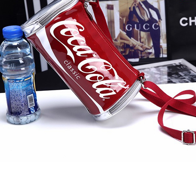 WOMEN'S Bag South Korea Trend Trendy Letters Printed Coke Shoulder Bag Leisure Bag