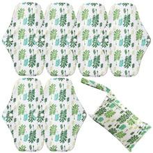Panty-Liner Menstrual-Pads Bamboo-Charcoal Reusable Sanitary-Napkin Hygiene Maternity-Wet-Bag