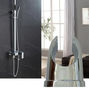 1/2PCS Bathroom Wall Shower Heads Holder Shower Base Nozzle Classic Shower Bracket Wall Holder Durable Tool Bathroom Accessories