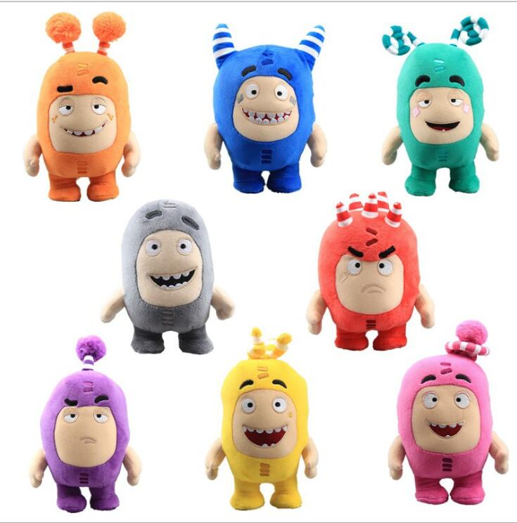 18cm 2020 New Oddbods Cartoon Fuse Jeff Newt Odd ZEE Bods Stuffed Animals Plush Toy Doll Plush Toy Soft Stuffed Toys