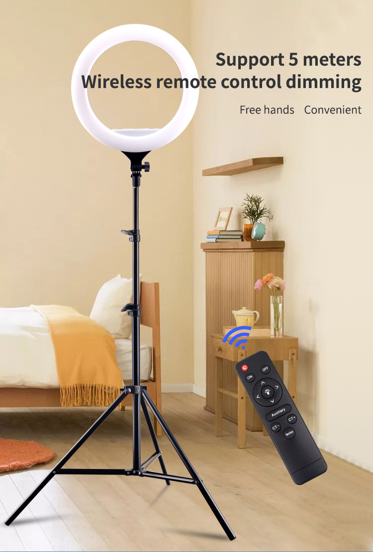 """Ha56451824367435ca44d5b879d1847e5n 14"""" LED Ring Light Photographic Selfie Ring Lighting with Stand for Smartphone Youtube Makeup Video Studio Tripod Ring Light"""